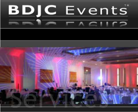 Wedding and Events Production lighting by BDJC Events