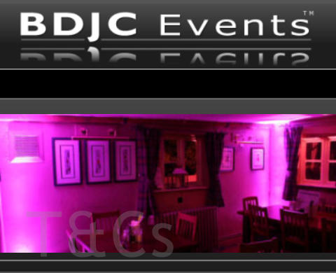 BDJC Events T and C