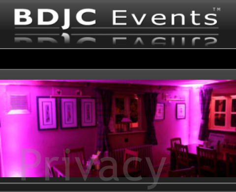 BDJC Events Privacy Policy