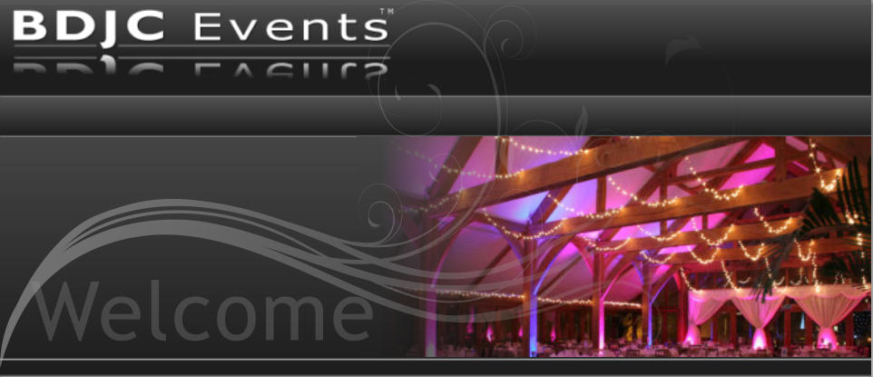 Welcome to BDJC Events - Event Lighting, Décor & Theming Services